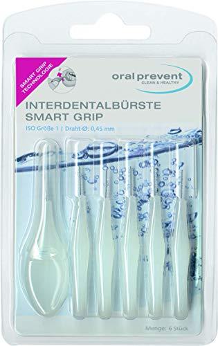Oral Prevent Interdentalbürsten Smart Grip 0.45 mm weiß, 1er Pack(1 x 6 Stück)