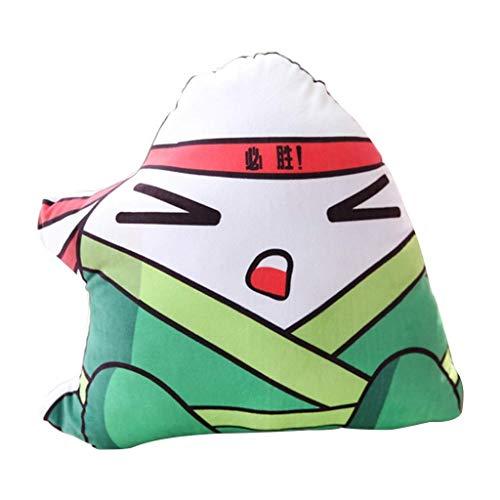 JYDQM Juguete de Peluche, Almohadas Juguetes Dragon Boat Festival Almohada Amortiguador Lindo de Felpa muñeca de Juguete (Tamaño: Altura 50 cm) (Color : B)