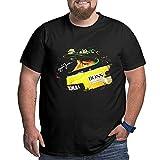 Ayrton Senna Tribute F1 Racing Camiseta para Hombre Tallas Grandes Camisetas de Manga Corta Camiseta Estampada de algodón XL a 6XL T-Shirts