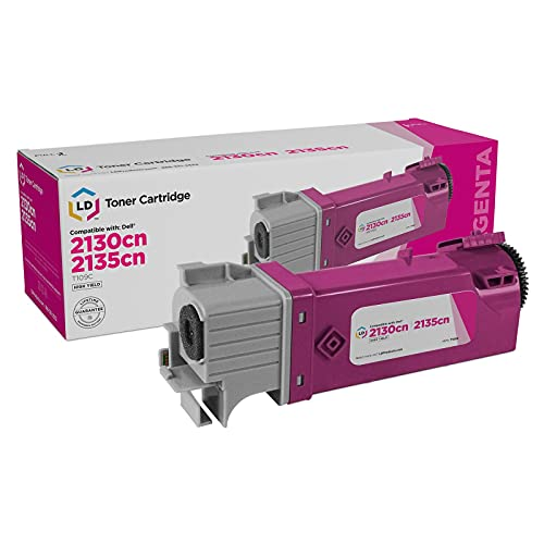 LD Compatible Toner Cartridge Replacement for Dell 330-1433 T109C High Yield (Magenta)