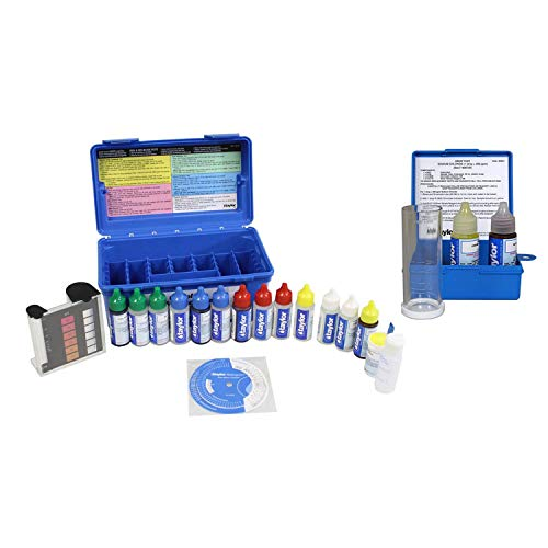 Complete Swimming Pool/Spa Test Kit + Sodium Chloride Salt Water Test