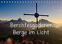 Berchtesgadener Berge im Licht (Tischkalender 2022 DIN A5 quer): Stimmungsvolle Gipfelbilder (Monatskalender, 14 Seiten )