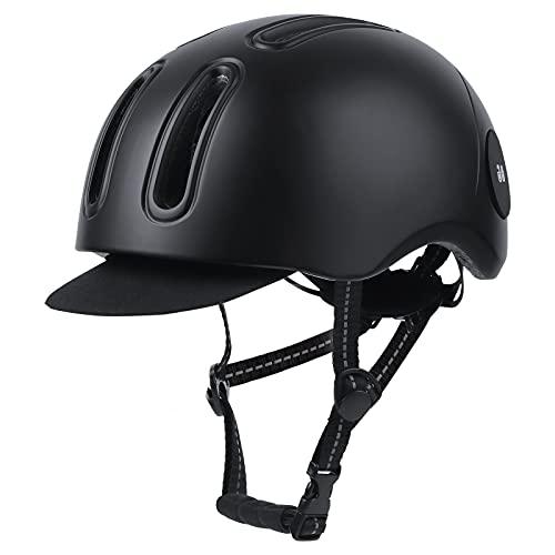 WILDMAX Erwachsener Männlicher und Weiblicher Fahrradhelm Integrierter Mountainbike-Helm Atmungsaktives Fahrradhelm-Pad, MTB-Helm Mit Sonnenblende, Geeignet Für Langlauf-Snowboard