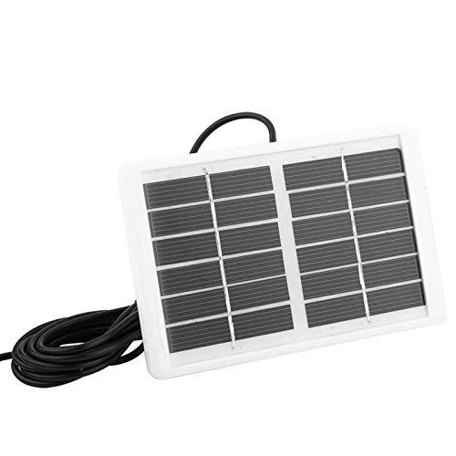 Tomanbery Cargador Solar Cargador de energía Solar a Prueba de Agua para luz de Emergencia para teléfono Inteligente