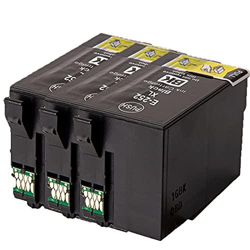 AZXC per la Sostituzione della Cartuccia del Toner T252 Compatibile EPSON per T2521 WF-3620 WF-3640WF-7110 WF-7610 WF-7620 T2522 T2523 T2524 Toner Toner Toner High rese w 3black
