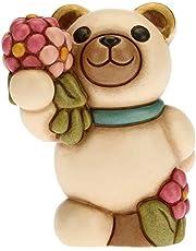 Teddy Primavera con ramo de flores