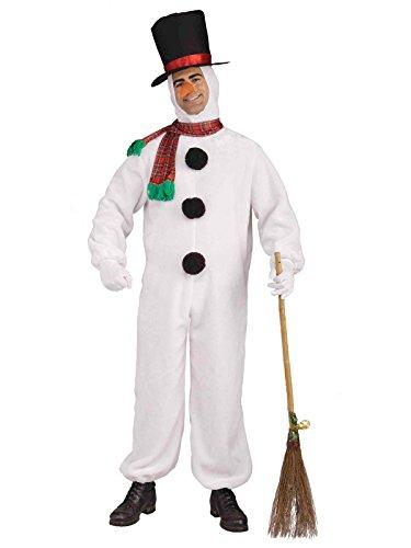 Forum Novelties, Inc Adult Soft Snowman Fancy Dress Costume Standard