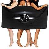 Large Puzzle Mercedes Benz schnell trocknendes Strandtuch Badetuch Cobra Kai Badetücher super saugfähig Strand Badezimmer Handtücher für Fitnessstudio Strand SWM Spa