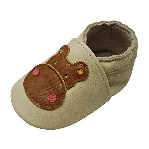 Yalion , Chaussures souple pour bébé (garçon) - Beige - beige, 18-24 Monate