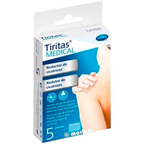 Hartmann TIRITAS Medical Reductor DE Cicatrices P5 7,2X5, Negro, Estándar