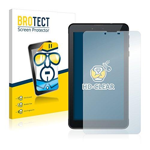 BROTECT Schutzfolie kompatibel mit Odys Rapid 7 LTE (2 Stück) klare Bildschirmschutz-Folie