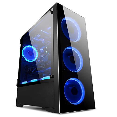 GOLDEN FIELD - Z21 Case per PC da Gaming Computer E-ATX, ATX, Micro-ATX, Mini-ITX con Finestra Laterale