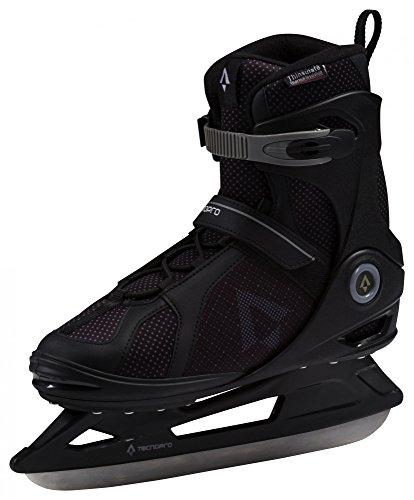 TECNOPRO Herren Phoenix Eishockeyschuhe, Schwarz, 40