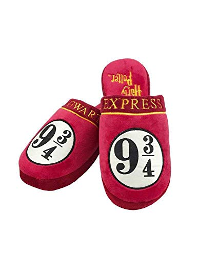 Groovy Harry Potter Slippers 9 3/4 Hogwarts Express Size L Calzature