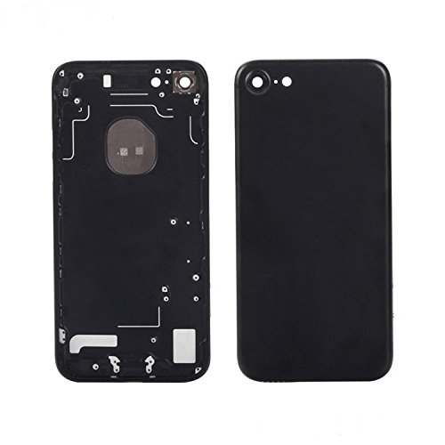 BEST SHOPPER Back Housing Battery Case Cover Replacement Part Compatible with Apple iPhone 7 4.7 - Jet Black