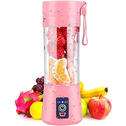 Segibuy Mixer, draagbaar, standmixer, persoonlijke maat, citruspers met USB, oplaadbaar, draadloos, Juicer personal blender voor groenten en fruit