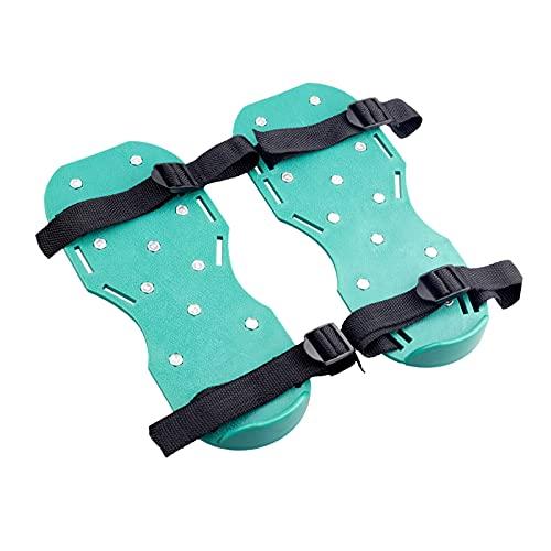 non_brand Aireador de Césped Zapatos de Punta Resistente para Jardín Ejercicio de Punta Duradero