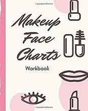 Makeup Face Charts Workbook: Blank Templates for Practice | Evening | Runway Looks | Makeup Artists | Direct Sales Consultants  Beauty School Classes ... | Video Tutorial | Makeup Junkies Workbook
