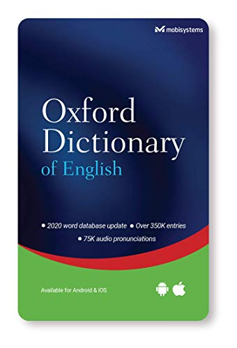 Oxford Dictionary of English for smartphone / tablet app - Android and iOS - Lifetime License