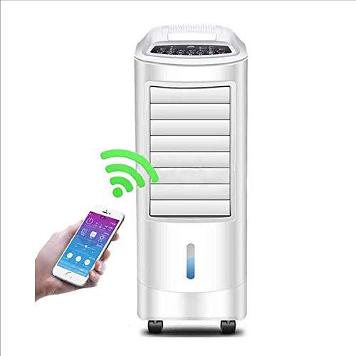 NAN liang Control remoto solo ventilador de aire acondicionado frío hogar ventilador de enfriamiento móvil inteligente APP control ventilador eléctrico puede ser humidificado regularmente Brisa fresca