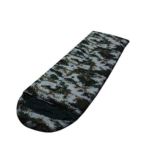 ERSD Haarteile Umschlag Schlafsack für Camping, Komfort für Erwachsene Warmes und kaltes Wetter Herbst und Winter Outdoor Erwachsene Daunenschlafsack Daunenschlafsack Superleichter Warmer Schlafsack
