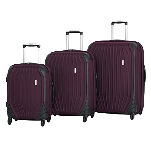 it luggage Impact Frameless 4 Wheel Spinner Set, Dark Gull Grey