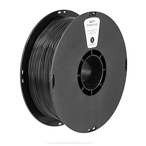 3D Printing Filament 1kg, PLA K6 3D Filament, High Impact Resistance, High Strength, High Toughness Modified Material-black_1.75mm