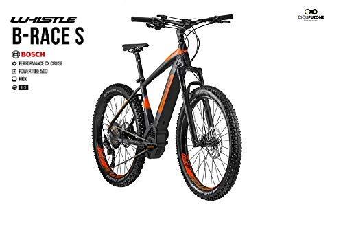 Whistle b-Race S Gama 2019, Black- Neon Orange Matt, 50 CM - 20