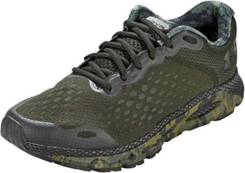 Under Armour Zapatillas de Running para Hombre 3024001-301_47,5, Color Verde, 47,5 EU