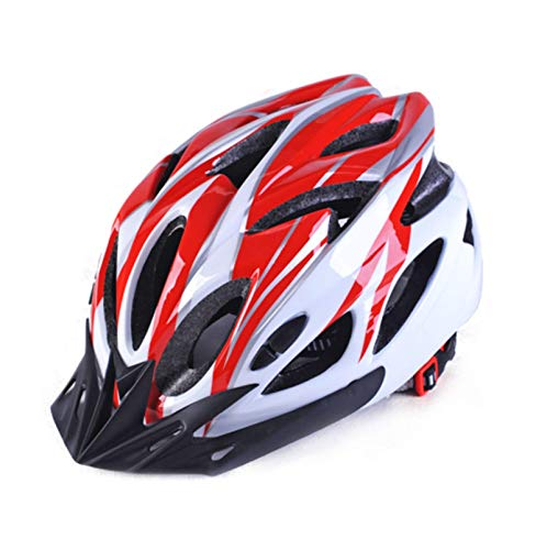 JianJud ECE and DOT certified bicycle helmets, ultra-light overall sports mountain bike helmets, suitable for men and women, one size fits the head circumference of 56-62cm H,One size