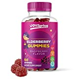 Sambucus Elderberry Gummies for Kids - Vitamin C Immune System Booster - Tasty Triple Action Gummy Bears with Zinc - Mom Made & Toddler Approved Kids Cold & Sickness Relief for Happier Winters