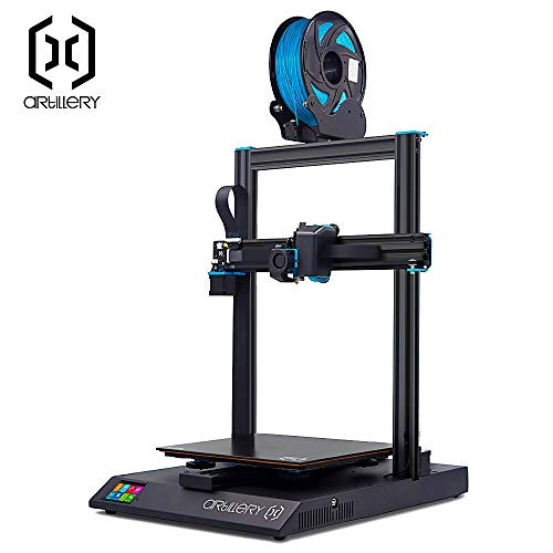 Artillery Sidewinder X1 3D Printer 2019 Newest 95% Pre-Assembled 300x300x400 Model with Dual Z Axis...