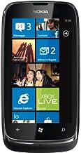 Nokia Lumia 610 8GB Wifi Windows Unlocked Quadband 3G Cell Phone (Black) - International Version