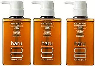 【お徳用】《5% OFF》haru黒髪スカルプ・プロ400ml✖3本セット
