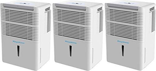 Keystone High Efficiency 70-Pint Dehumidifier with Electronic Controls (3-(Pack))