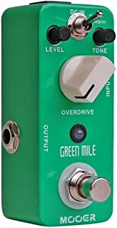 Mooer Audio Green Mile Overdrive Guitar Effects Pedal (Open Box)