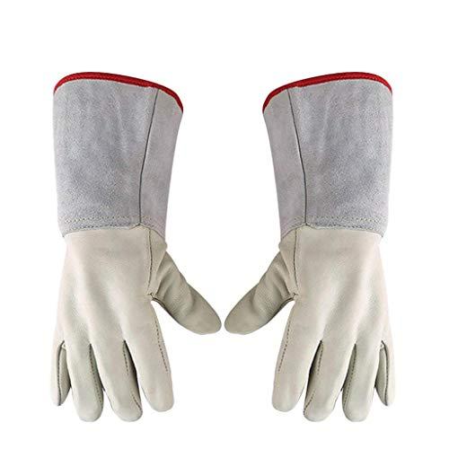 ZFZ Anti-Flüssig-Stickstoff Niedertemperatur-resistente Handschuhe, warm und kaltbeständig, geeignet für kalte Lagerhandhabung, Arbeitsschutzhandschuhe Handschuhe (Größe, 40cm),45 cm