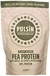 Versatile unflavoured premium protein powder Low Carb Easily mixes into sweet and savoury recipes and smoothies 80% protein Grown in the EU