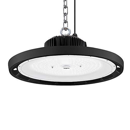 300W LED Industrielampe, UFO LED Strahler 30000LM Werkstattlampe, IP65 Wasserdichte Hallenstrahler 120°Abstrahlwinkel Arbeitsleuchte Lampen Hallenbeleuchtung 6500K, LED High Bay Licht für Garage