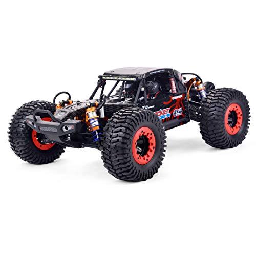 DAN DISCOUNTS Coche teledirigido 1:10 4WD RC Auto 80 km/h control remoto eléctrico todoterreno 2,4 GHz RC Offroad Buggy rápido coche de carreras juguete para niños y adultos – sin escobillas