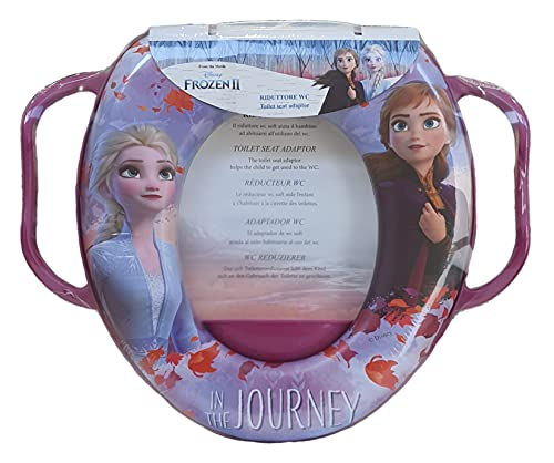 Reductor de inodoro para inodoro de Frozen II de Disney, Elsa Anna, universal, 62491