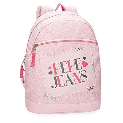 Mochila casual Pepe Jeans Olaia Rosa