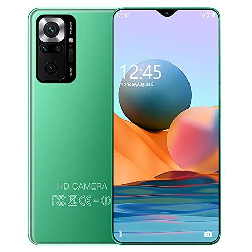 PENNY73 Teléfono Celular Versión Global M 11 Smartphone Android 16GB 512GB 10 Core 48MP Cámara 4G 5G Dual SIM Teléfonos Móviles Desbloqueados,Green