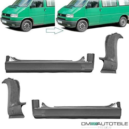 DM Autoteile T4 Reparaturblech Radlauf vorne SET Türschweller Einstieg Schweller SET 90-04