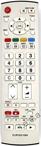Ersatz Fernbedienung für Panasonic EUR765109A Fernseher TV Remote Control / Neu