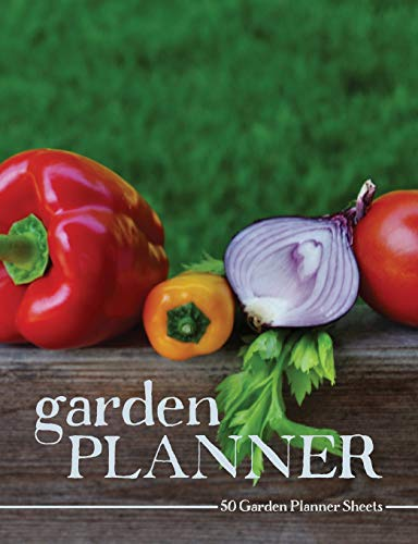 Garden Planner: Gardening and Landscape Layout Planning Pages; Vegetable Harvest Cover Photo