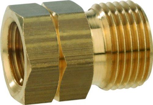 GOK Verbindungsstück 1/4-Zoll-Innengewinde LH x G 3/8-Zoll-Außengewinde LH KN