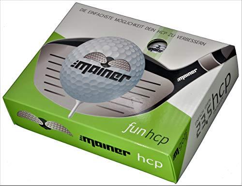 Emainer Golfbälle, Softer Golfball mit maximaler Reichweite, Dieser Ball kennt Dein Handicap, 12er-Pack