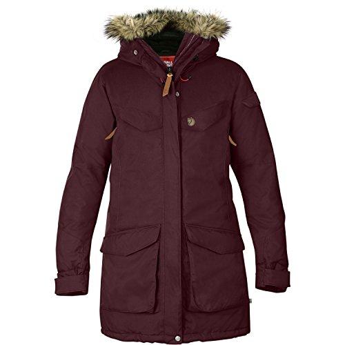 Fjallraven Damen Nuuk Parka W Sport Jacket, Dark Garnet, XS