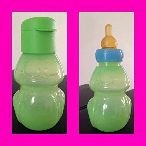 TUPPERWARE EcoEasy Botella para Beber 350 ml Verde Rana Niño Niñas Amigo del Deporte